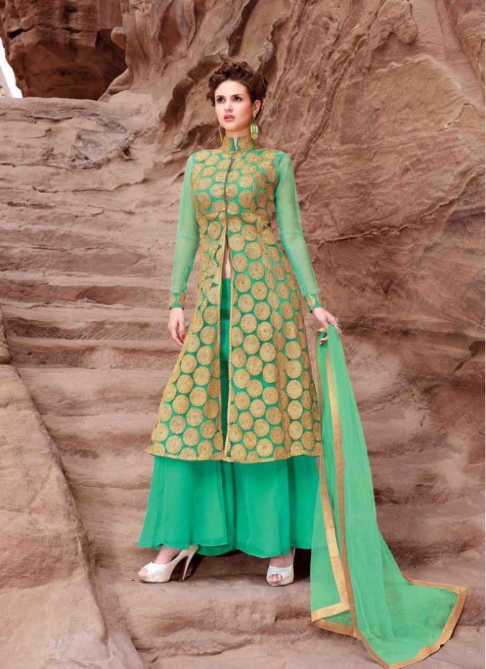 palazzo salwar suits