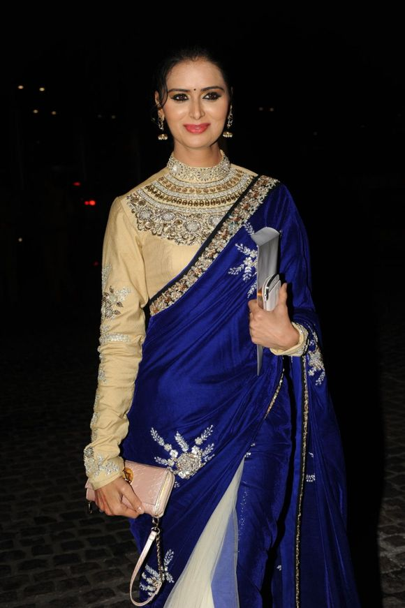Full Sleeve Saree Blouse Designs