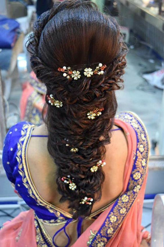 Heavy Decorated Hairdo