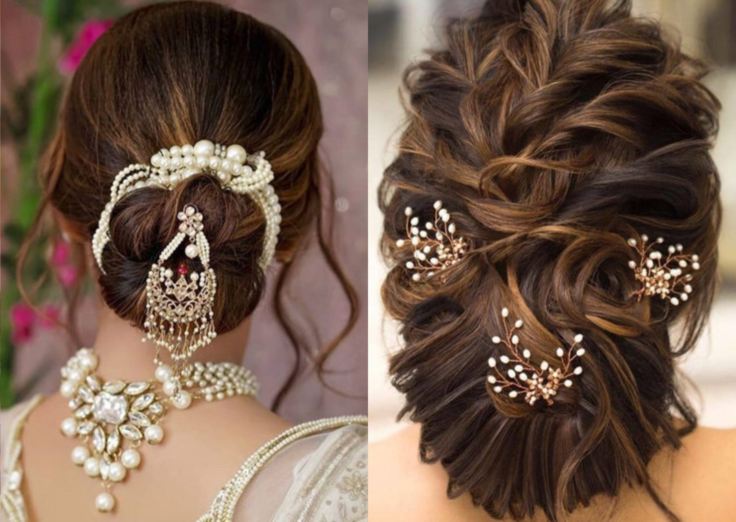 Wedding Hairstyle For Saree
