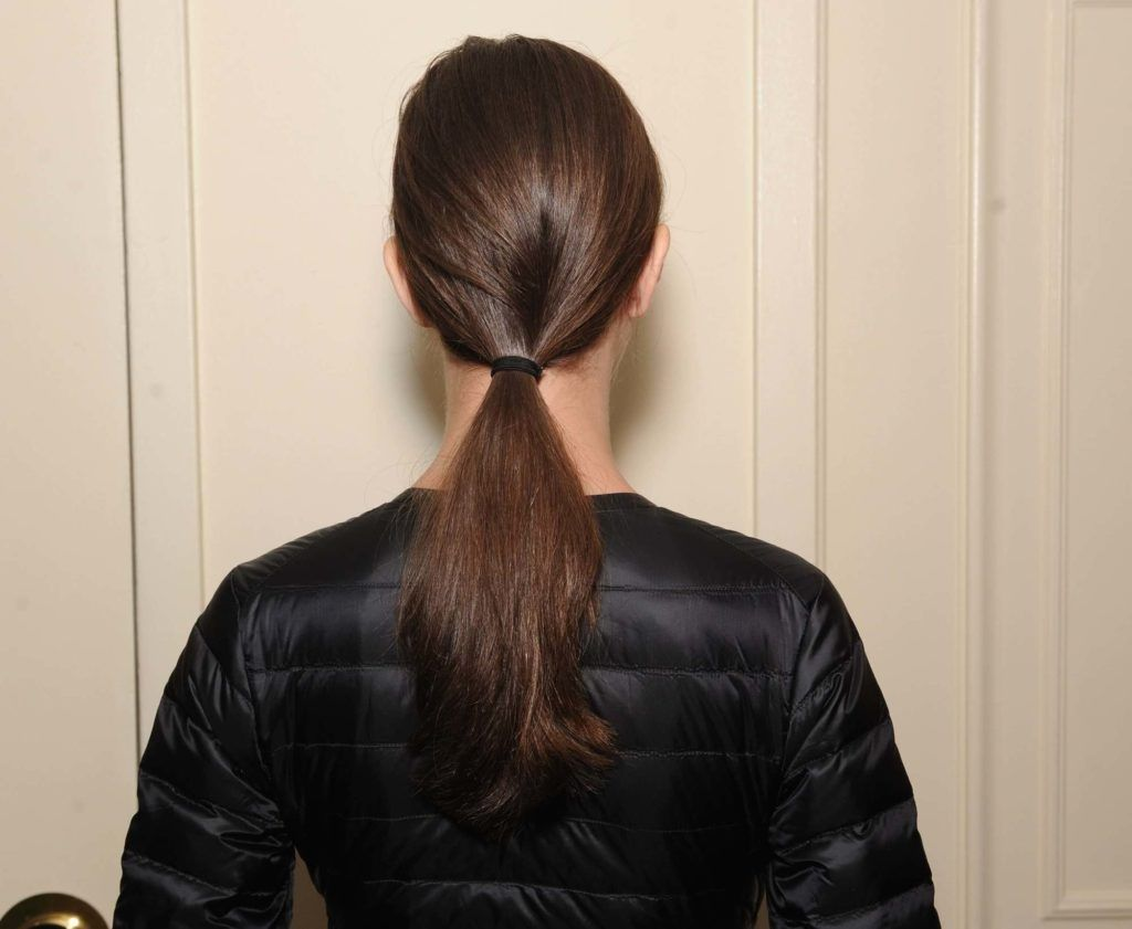 low-tied-pony-tail