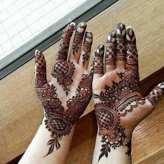 Beautiful Arabic Mehandi Design