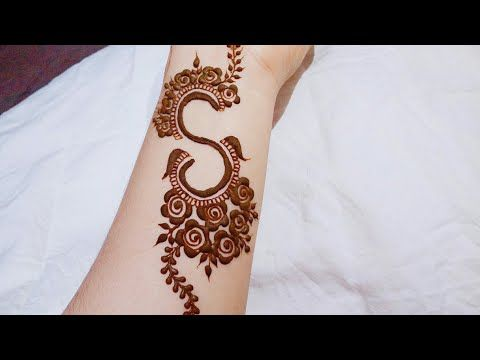 Bracelet with S Shape Mehndi Design
