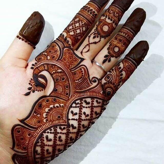 Diwali Arabic Mehndi Design