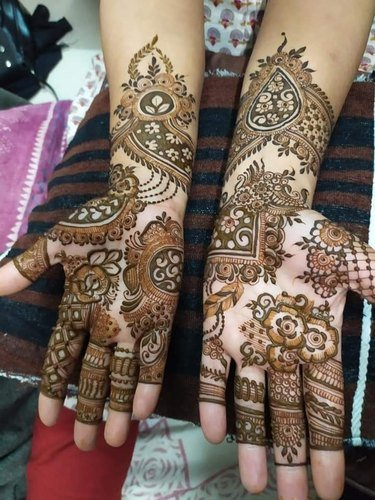 New Arabic Mehndi Designs for Brides