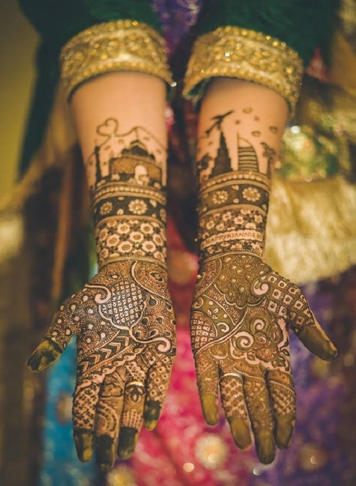 Perfect Arabic Mehndi Design To Suits for Wedding Occasions