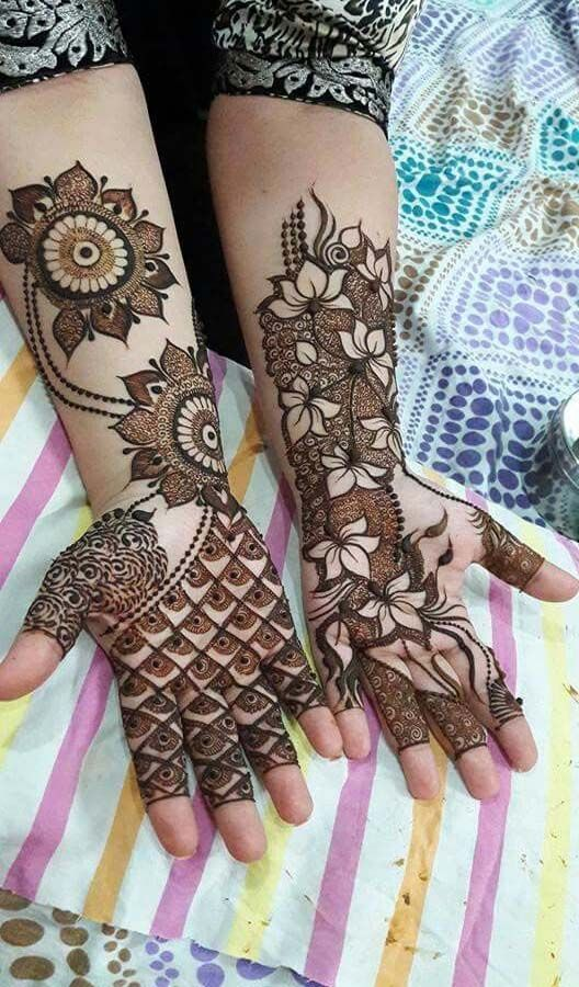 Perfect Eid Arabic Mehndi
