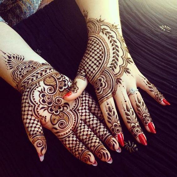 Professional Arabic Style Mehndi
