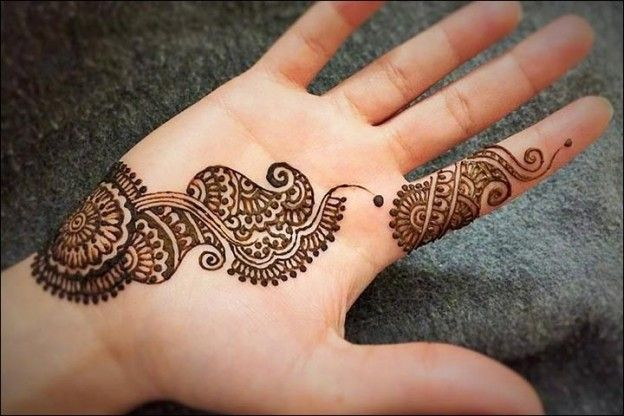Simple & Easy Arabic Mehandi Designs