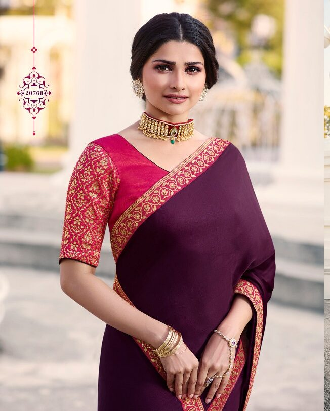Bollywood style saree: