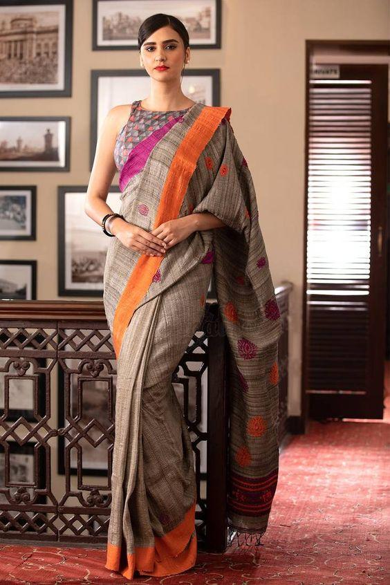 Gasp Style Saree: