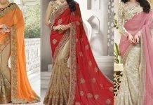 stylish saree