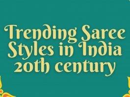 Saree Styles in India