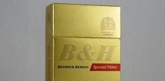 b&h top cigarette brands in India