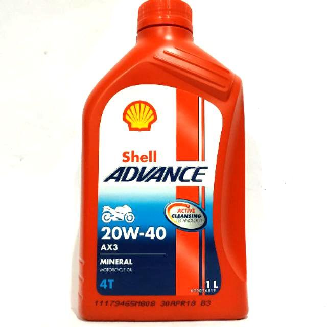 shell advance engine oil