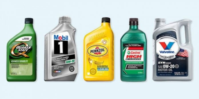 Engine oil brands in india